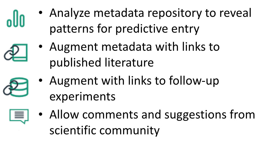 Goals in editing metadata to make it more useful